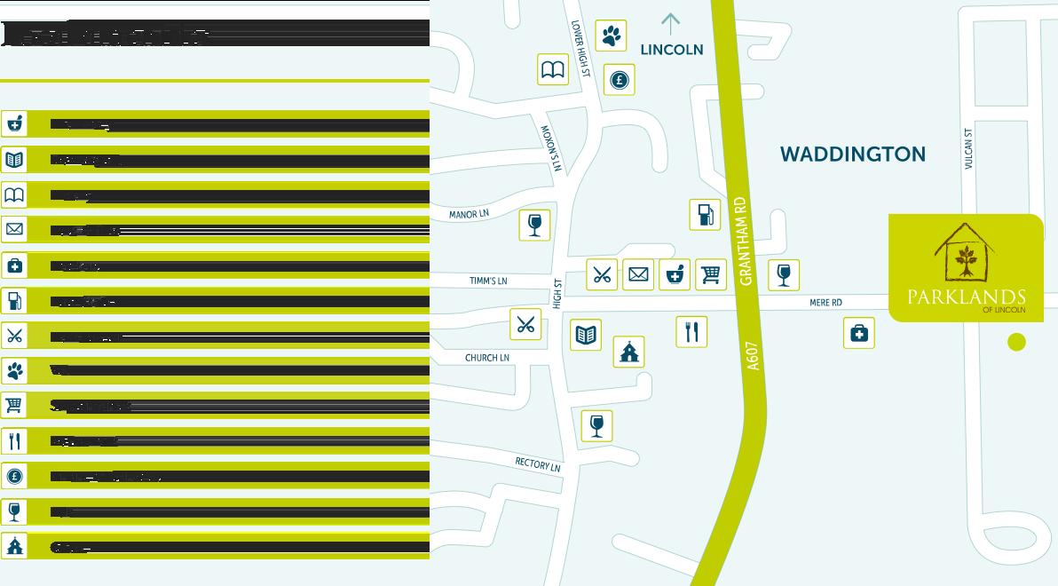 Location Amenities & Map