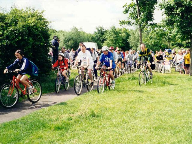 GW Phase 1 cyclists starting 1998
