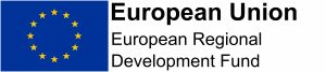 ERDF funded logo