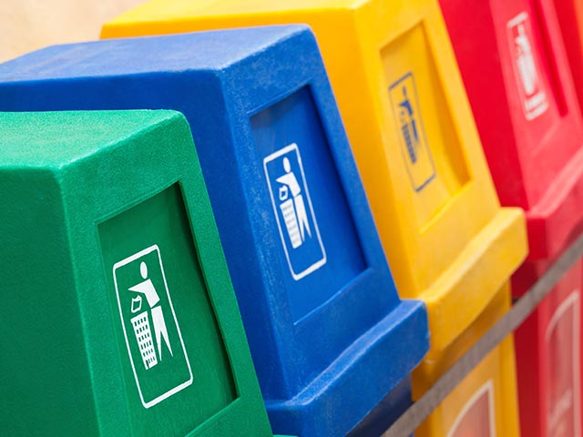 IIE: Recycling bins