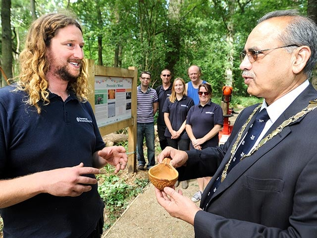 Nene Coppicing and Mayor