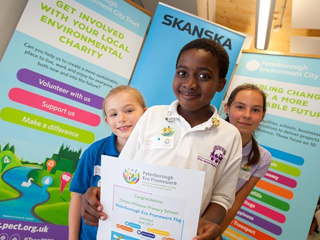 Skanska Sponsoring Schools