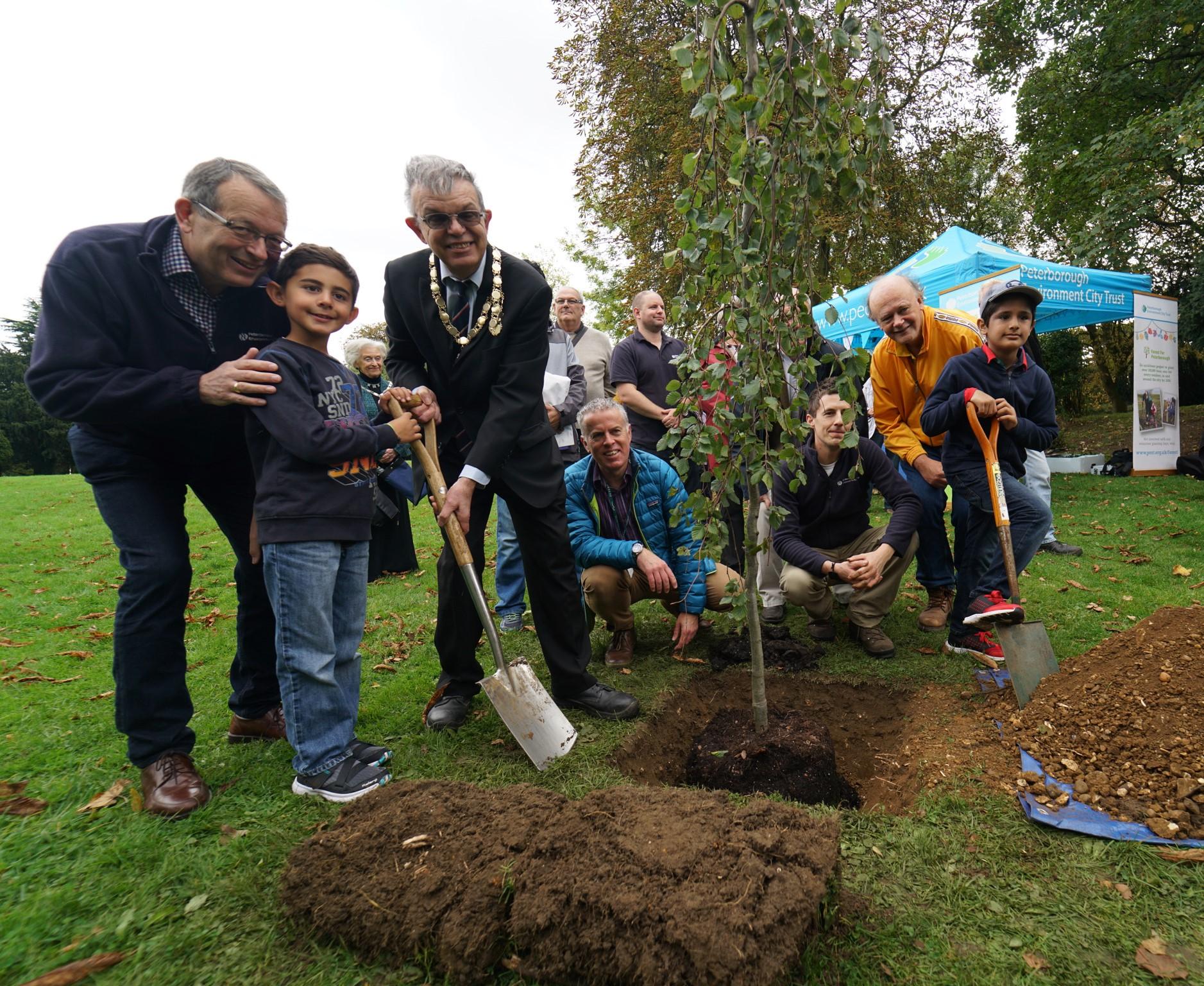 100,000th tree plant