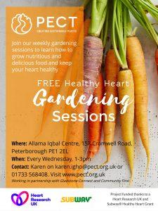 Healthy Heart Gardening