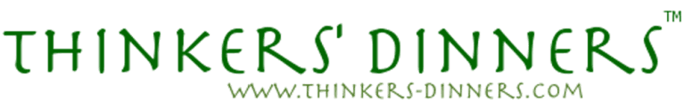 Thinkers logo plus web address