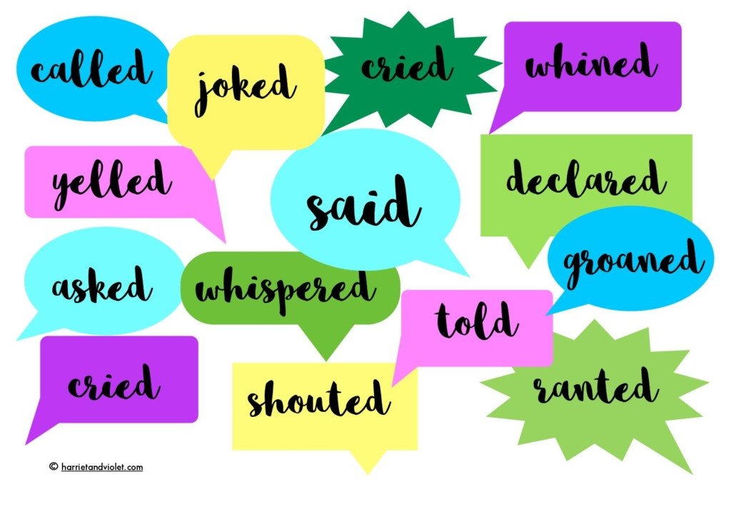 said and other words word mat free teaching resources print