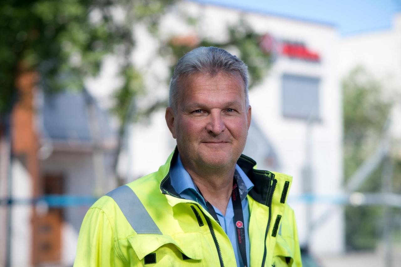 Konsernsjef Gunnar Moe i Rana Gruber skal kutte alle CO2-utslipp innen 2025.