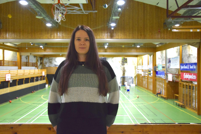 Lisa Dalhaug, leder i SIL Håndball. Foto: Kaja Reiertsen