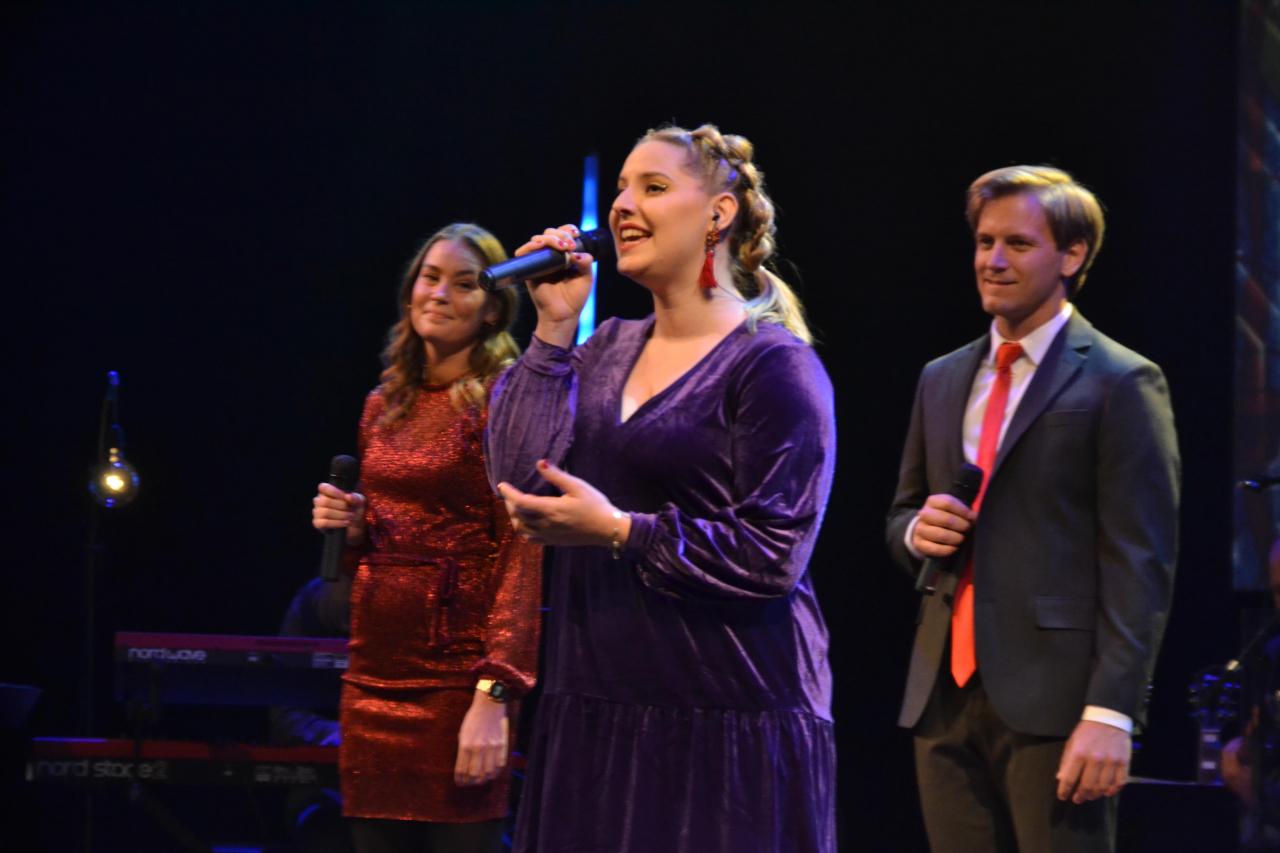 Fra Aksjon Juleglede sin konsert i fjor. Foto: Johan Tangen