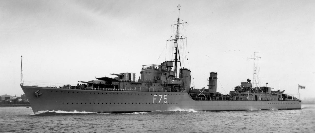HMS Eskimo, et av fartøyene som deltok på Lofotraidet.