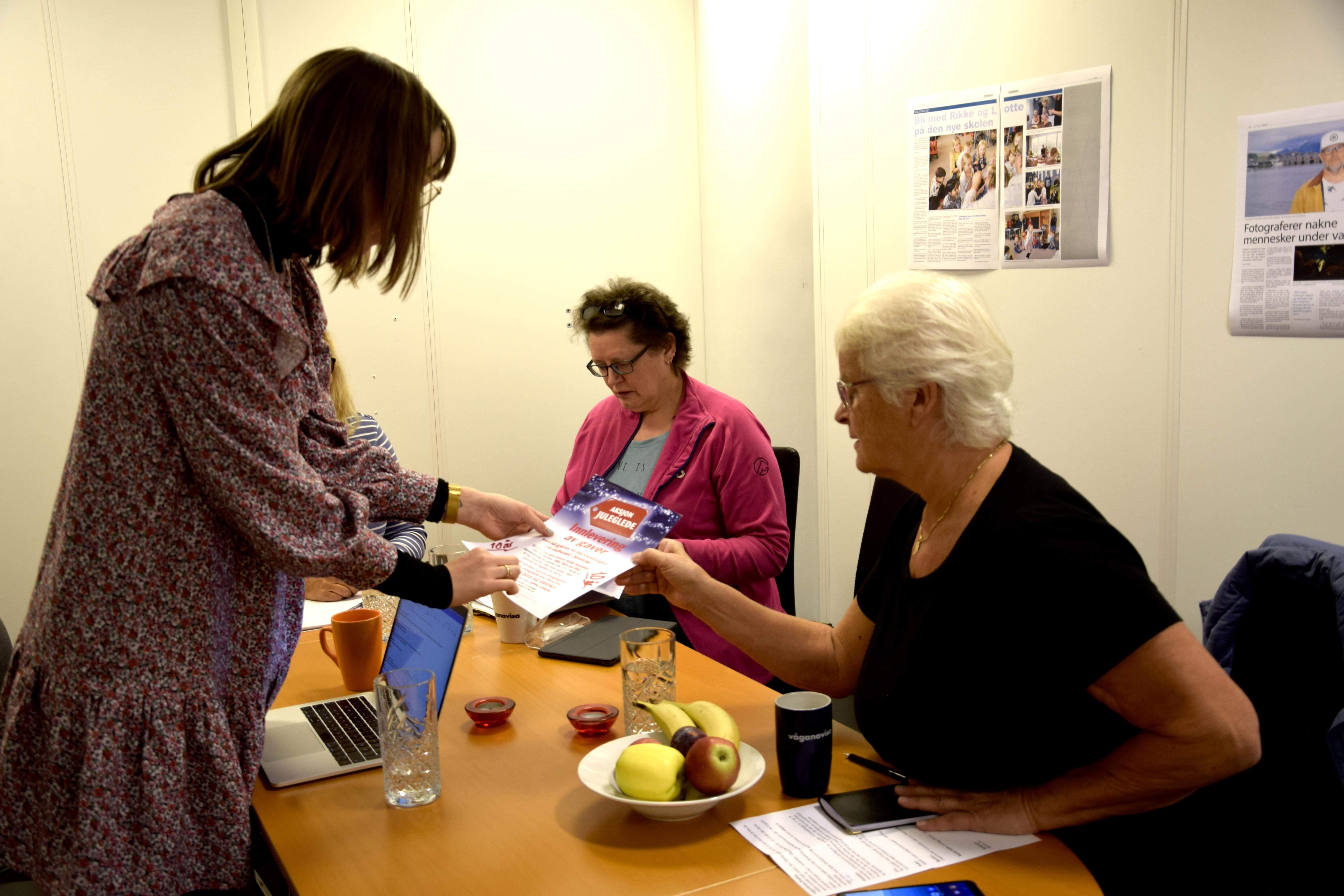 Det planlegges for å få klart detaljene i forkant av årets aksjon. Foto: Kaja Reiertsen