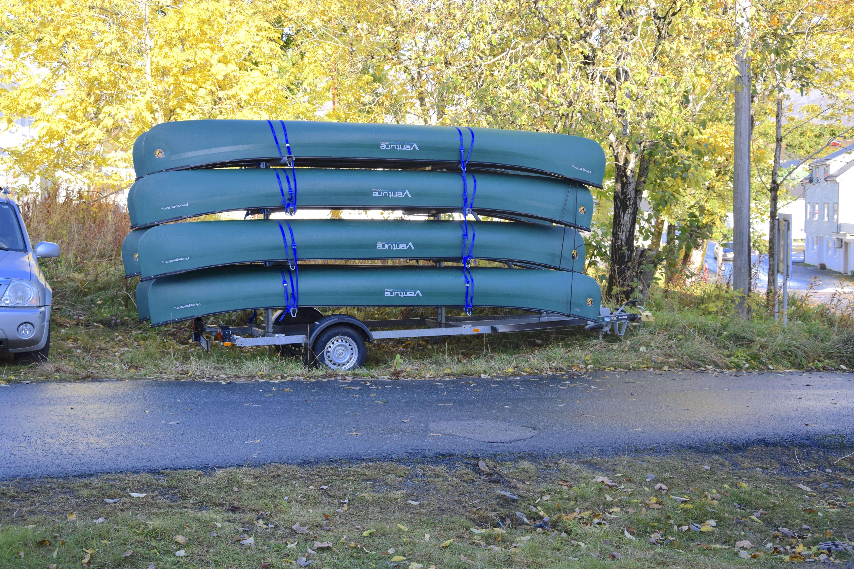Kanoer er det eneste unntaket fra at man kan låne utstyr gratis. Foto: Kaja Reiertsen