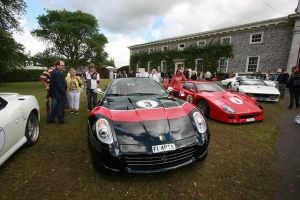 One of Chris Evans' Ferrari's that make up the 'magnificent seven' in his collection