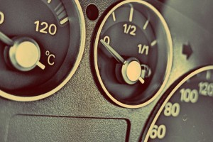 "Dials on dashboard of someone asking ""where can I sell my car today?"""