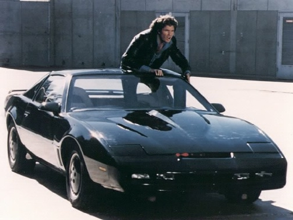 Talking Knight Rider Replica Car Up For Sale… But There's