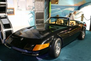 The Ferrari Daytona from Miami Vice, also fake