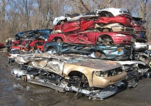 movies have destroyed lots of cars over the years