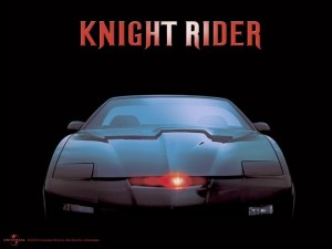 KITT car from Knight Rider