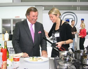 Terry Wogan on MasterChef Live in November 2009Terry Wogan on MasterChef Live in November 2009