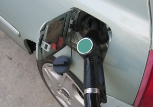 Car refuelling following our top ten tips for improving fuel efficiency