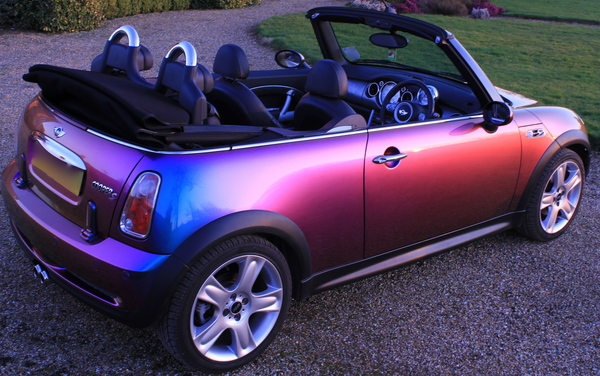 Duochrome Mini Cooper