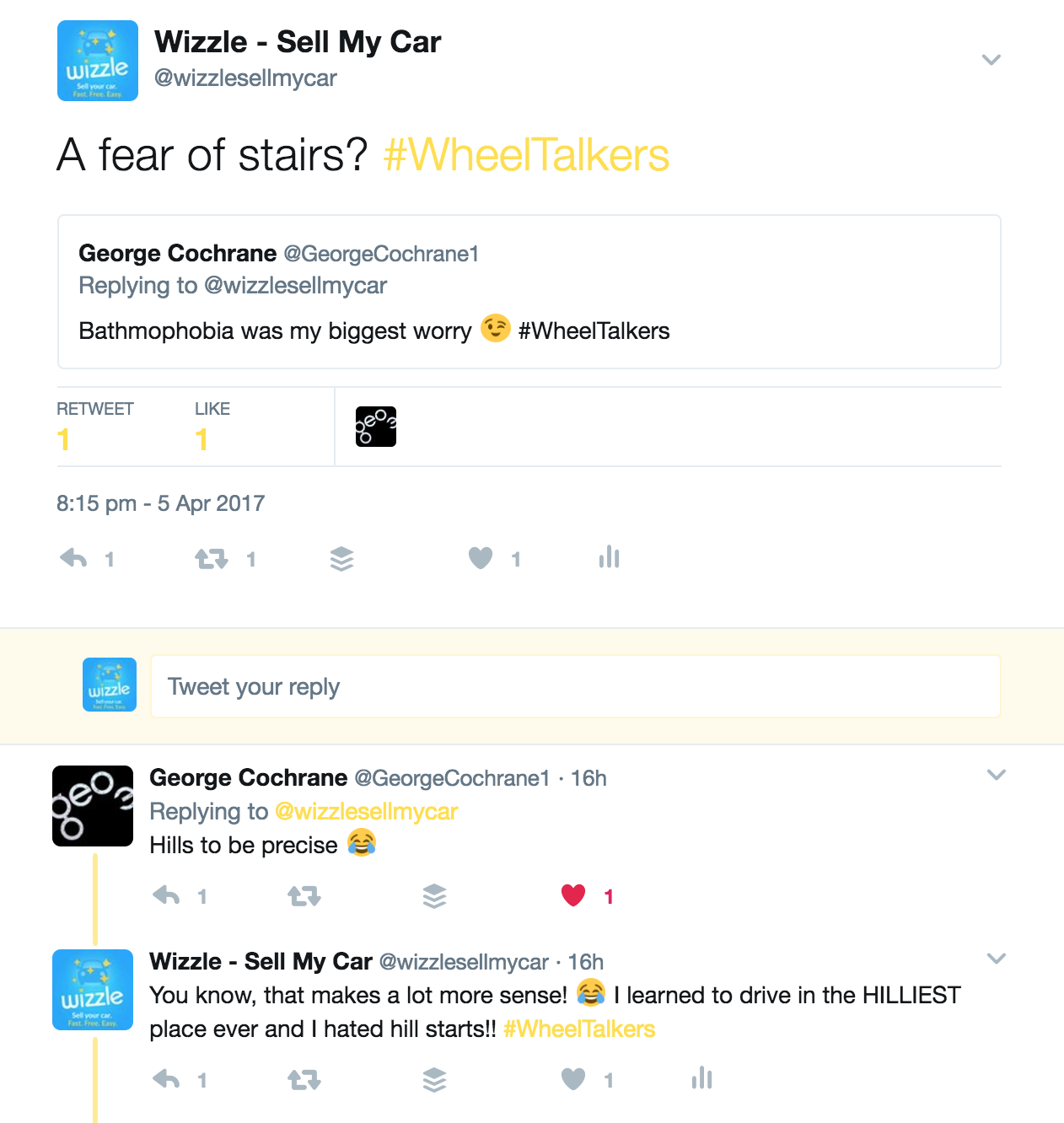 Tweets about hill starts