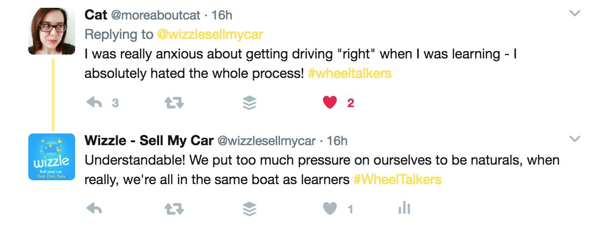 Tweets about driving lessons