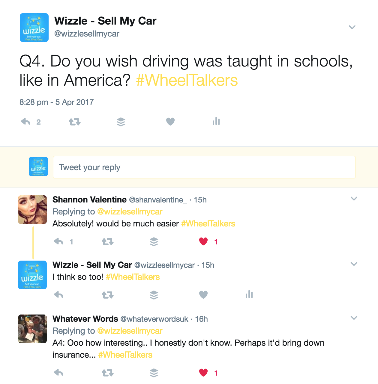 Tweets about driver's ed