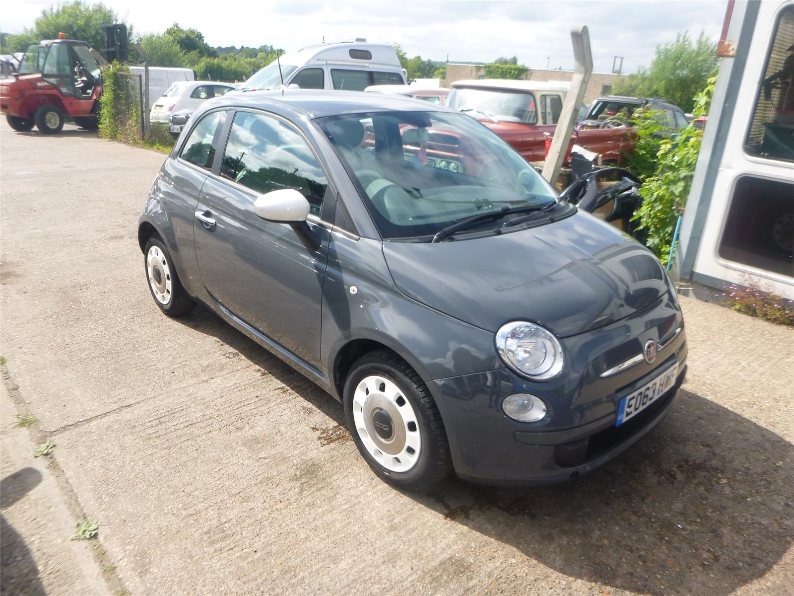 FIAT 500 COLOUR THERAPY DUALOGIC - Salvage Vehicles at Chase