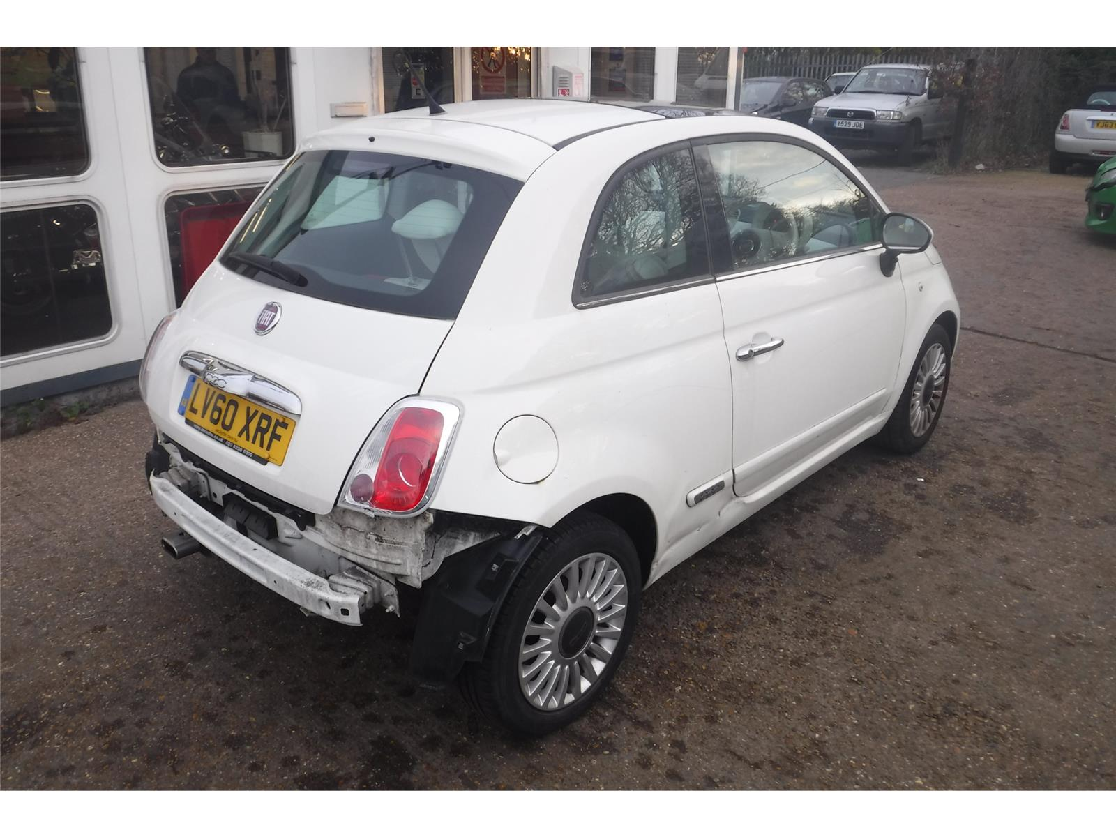 FIAT 500 LOUNGE DUALOGIC - Salvage Vehicles at Chase Autos