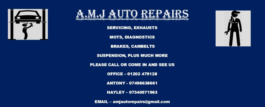 Special offer from AMJ Auto Repairs - Collection & Delivery of Your Car
