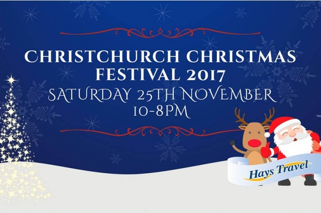 Christchurch Christmas Festival - 25th November