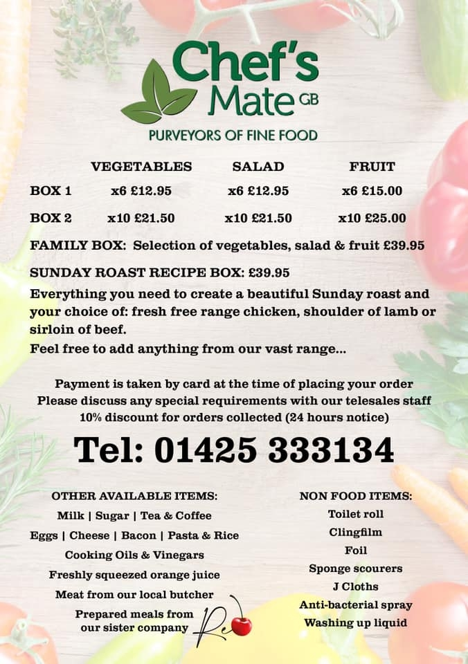 Chefs Mate GB - Fresh Produce Supplier Christchurch