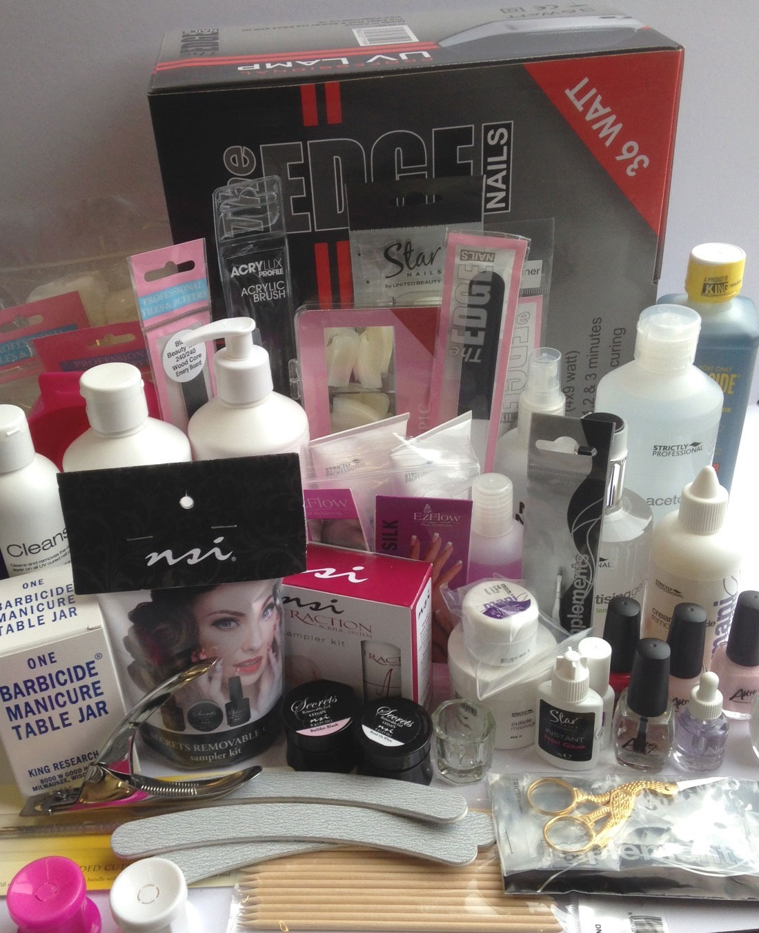 Complete Nail Technicians Kit - Next Step Beauty