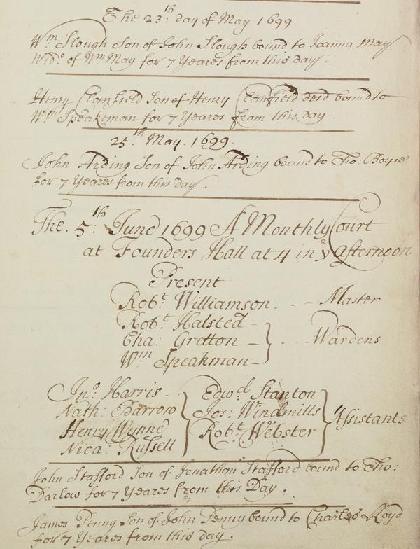 Flowing handwritten script on a page
