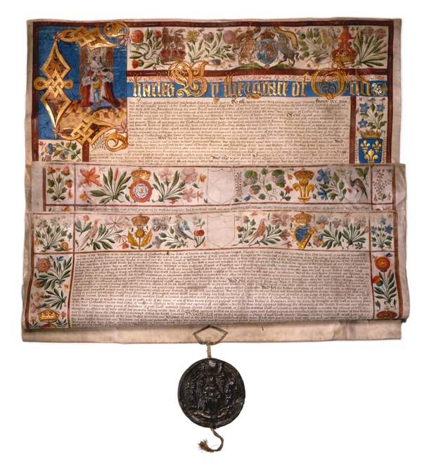 The Charter of the Worshipful Company of Clockmakers