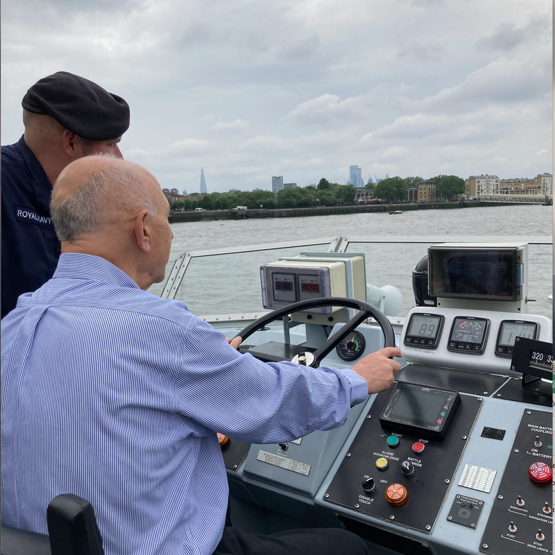 Thames Time with HMS Archer