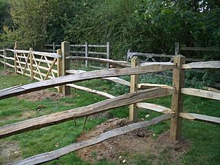 Bearleaf - Fencing Frensham, Surrey