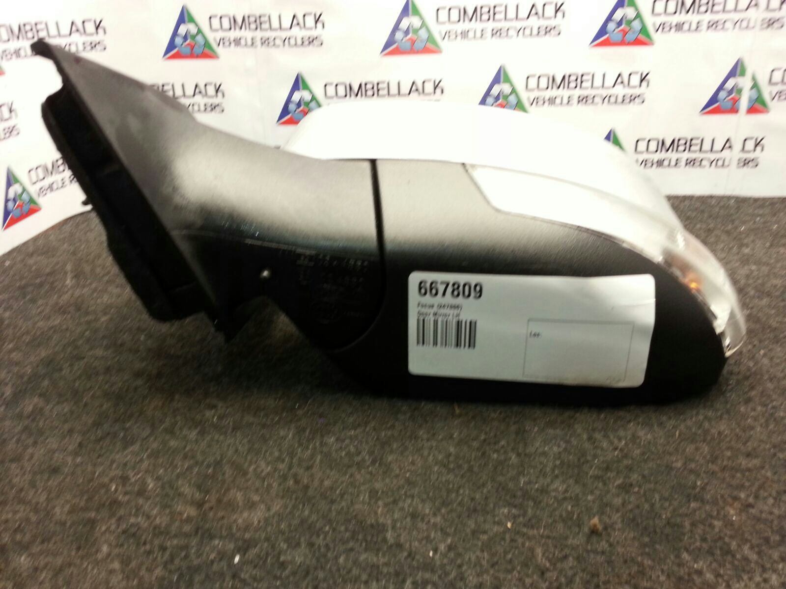 Ford Focus 2011 To 2014 Zetec Tdci Door Mirror Lh Used And Spare Exhaust Parts At Combellack Vehicle Recyclers