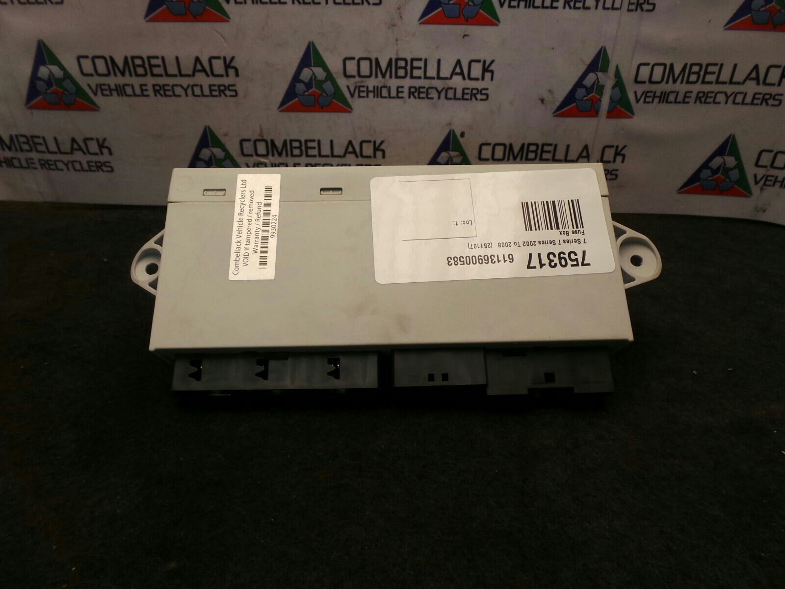 bmw 7 series 2002 to 2008 745i fuse box used and spare parts at cadillac escalade fuse diagram bmw 7 series 2002 to 2008 drivers o s right rear soft close control module