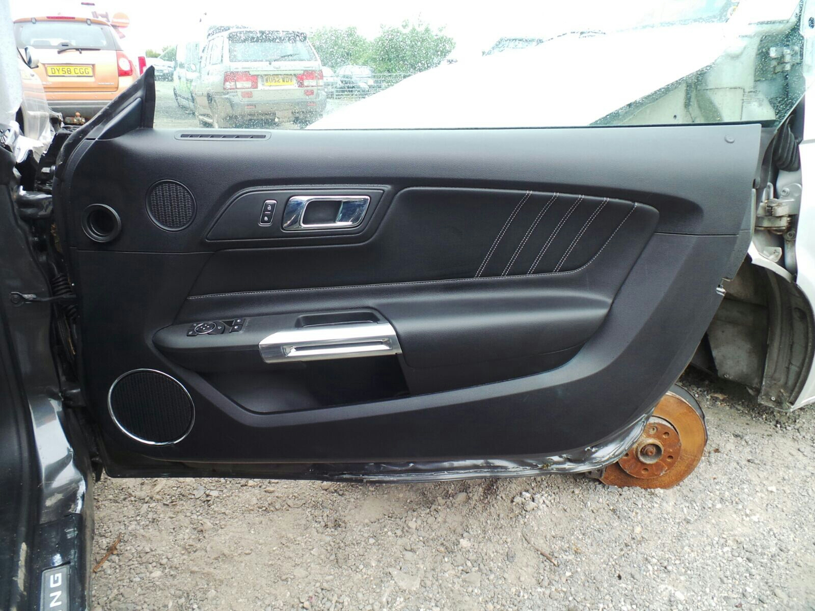 Mustang Used Parts >> Ford Mustang 2015 To 2018 Gt Door Front Trim Board Rh Used And Spare
