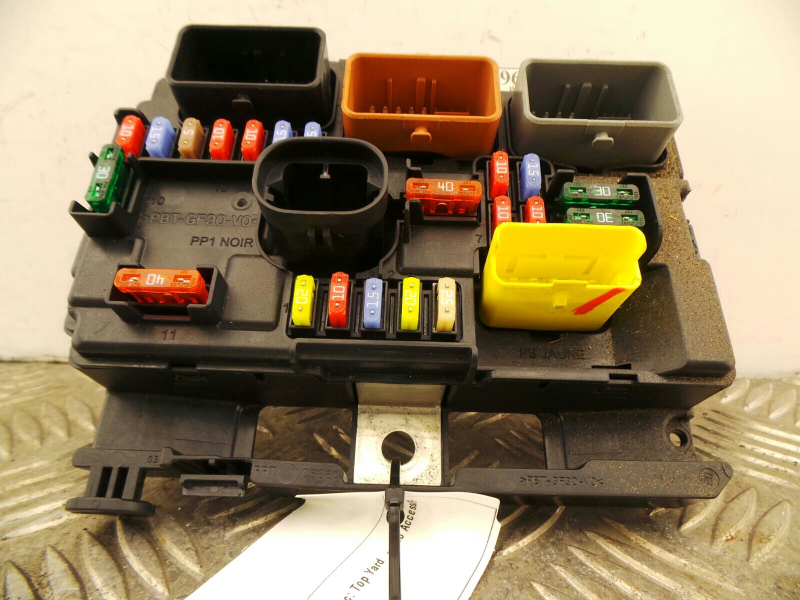 Citroen C3 Picasso 2009 To 2012 Exclusive HDi Fuse Box