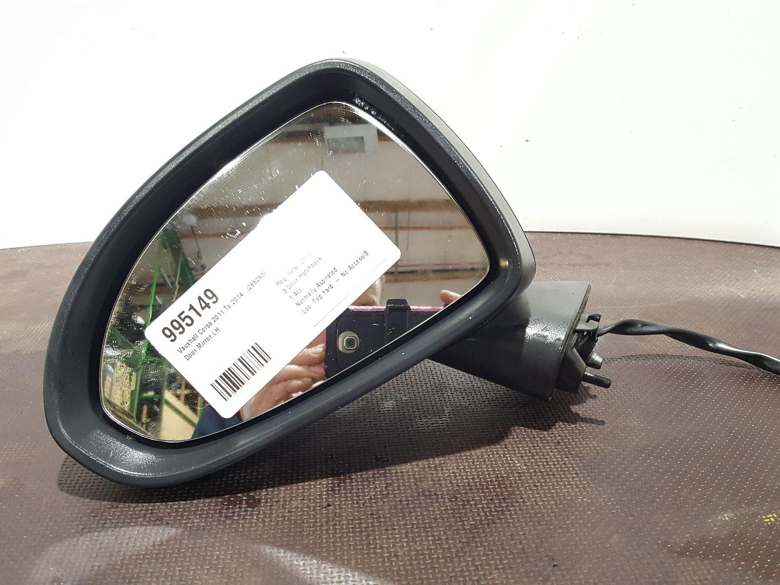 Vauxhall Corsa D 2011 To 2014 N/S Left Passenger Electric Door Mirror