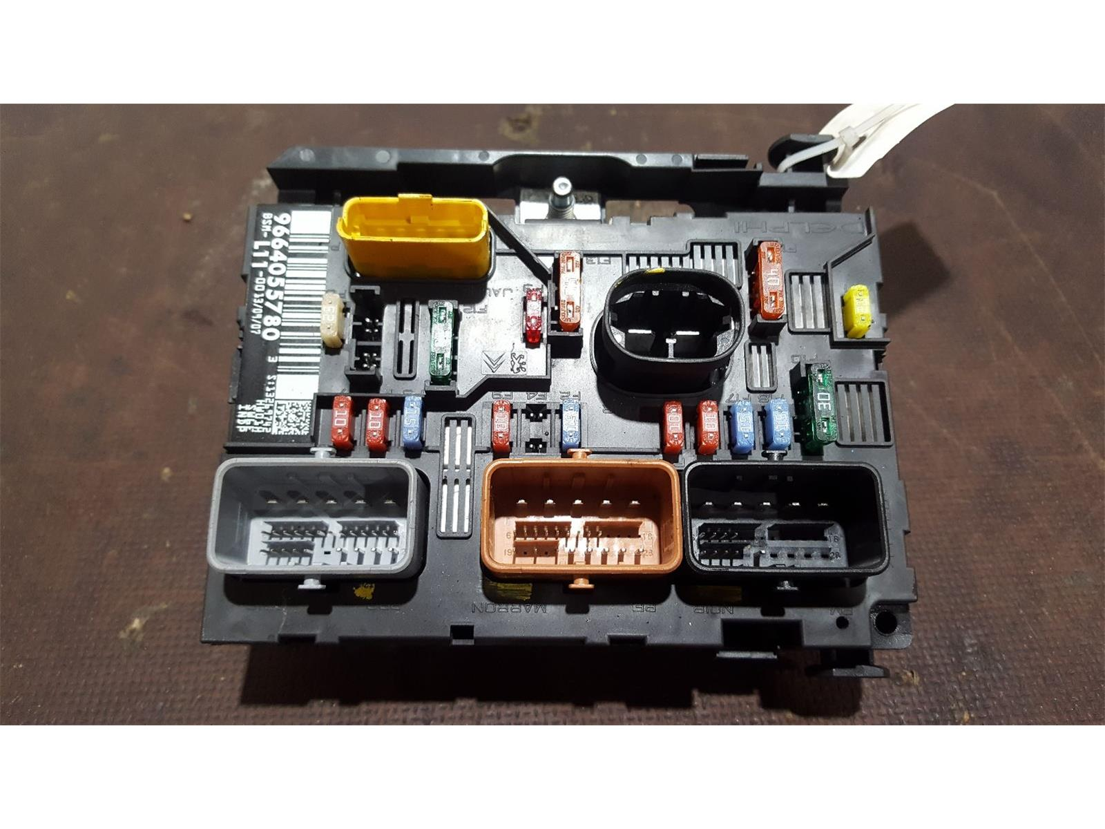 battery for hummer h2 fuse box best wiring librarypeugeot 207 2006 to 2009 fuse box bsi bmi bcm body control unit