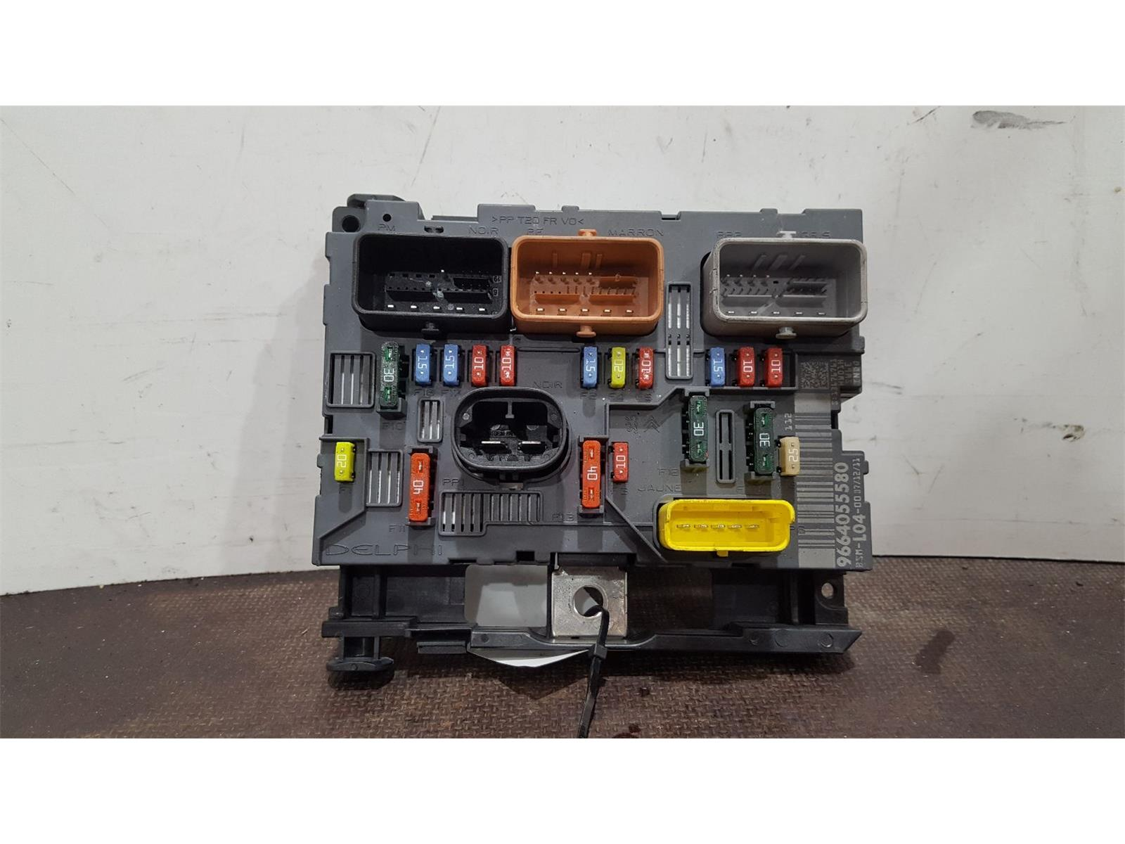 Peugeot 207 Fuse Box For Sale Explained Wiring Diagrams Audi A3 Diagram 2006 To 2009 Gti And Relay 1 Used Spare