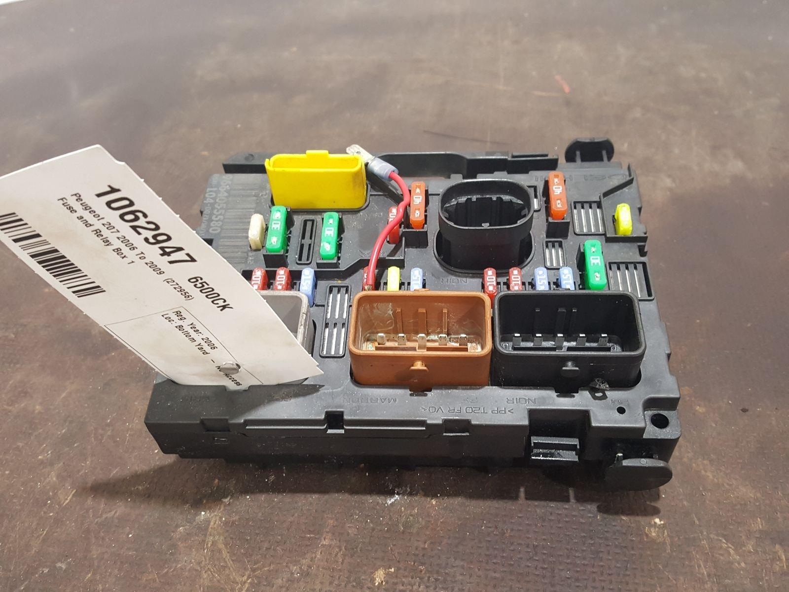 Peugeot 207 Fuse Box 2009 Detailed Schematics Diagram 206 Ebay 2006 To S A C And Relay 1 Used Spare