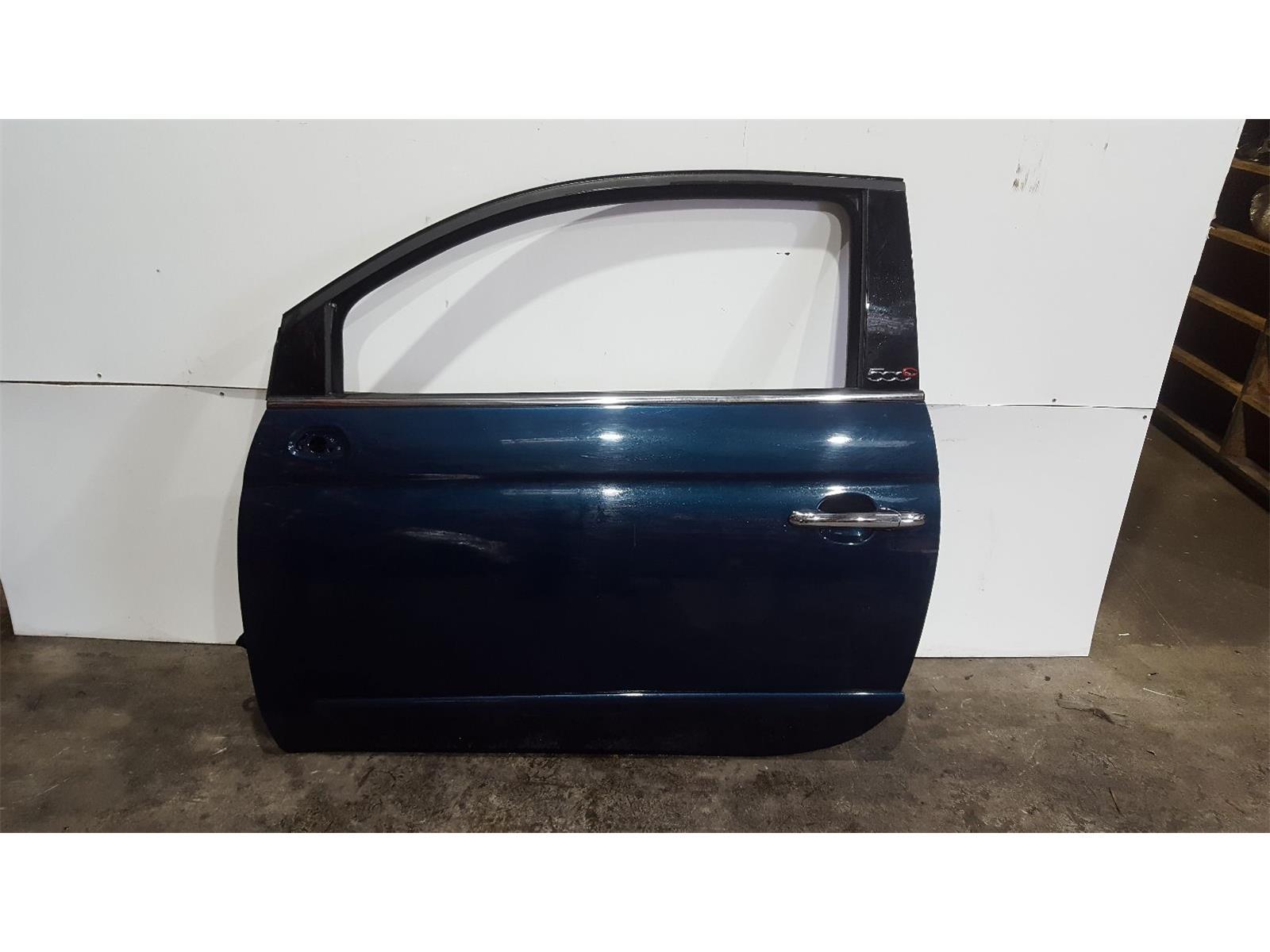 Fiat 500 2008 To 2015 N/S Left Front Door 52011900