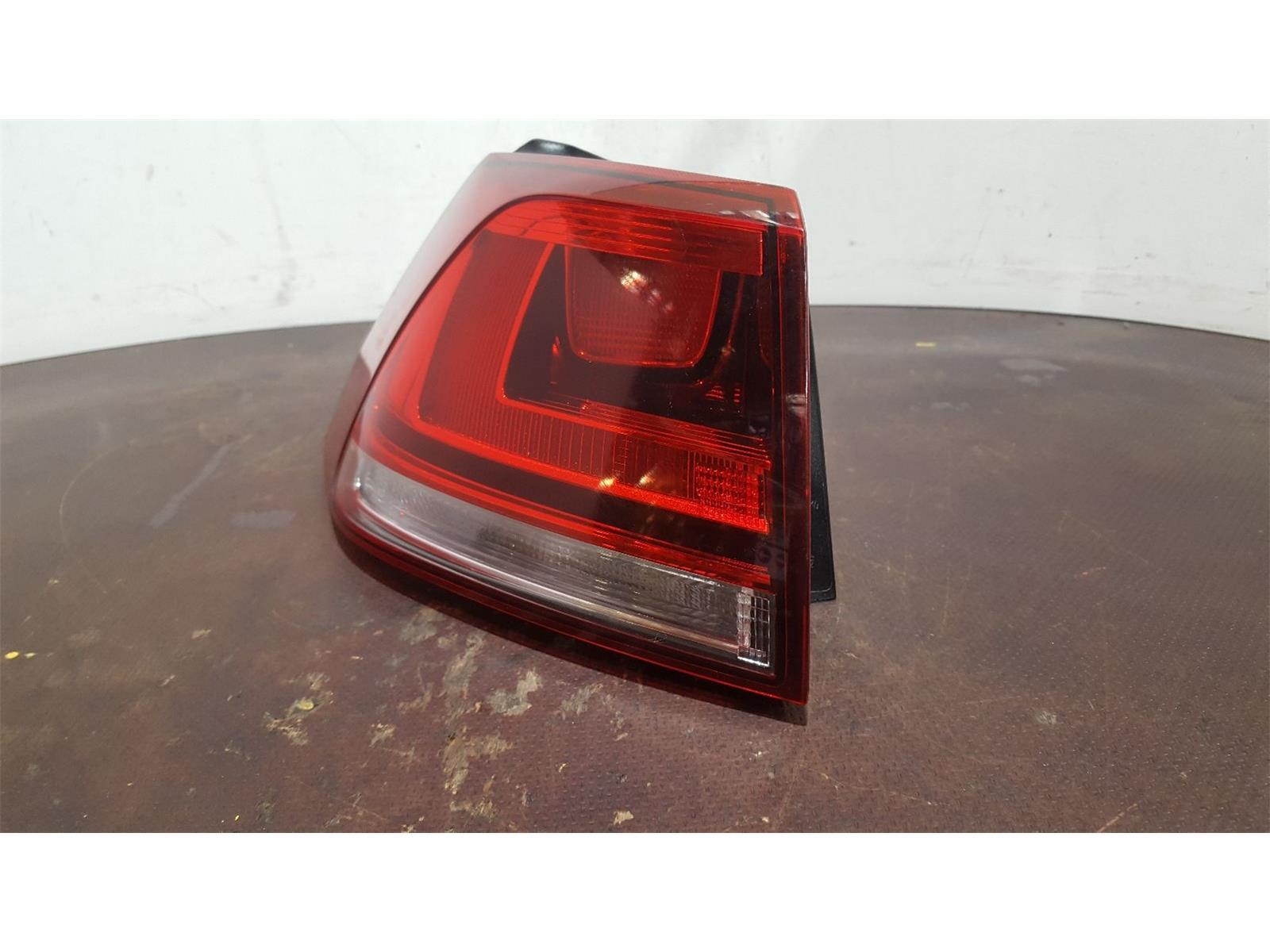 Volkswagen Golf MK7 2012 To 2017 N/S Left Passengers Rear Light 5 Door Hatchback