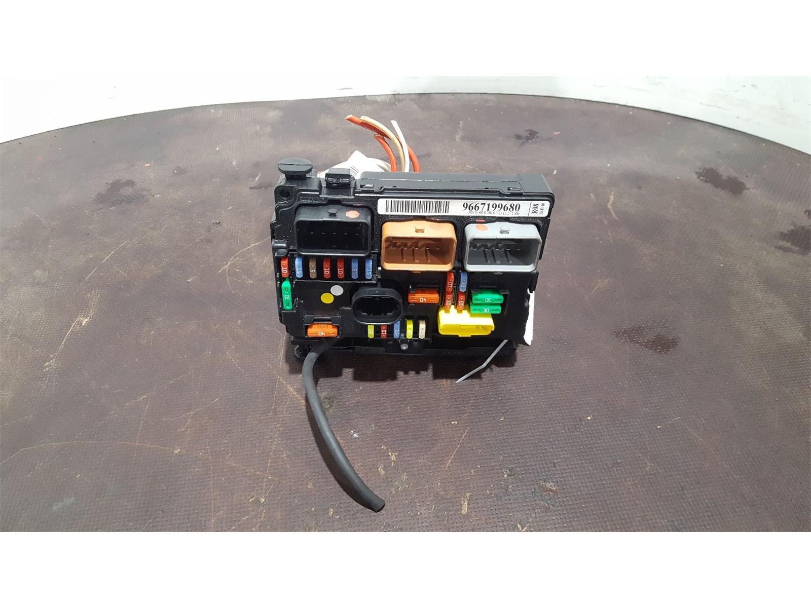 Citroen C3 Trailer Wiring Diagram Fuse Bsi Box Spares Custom