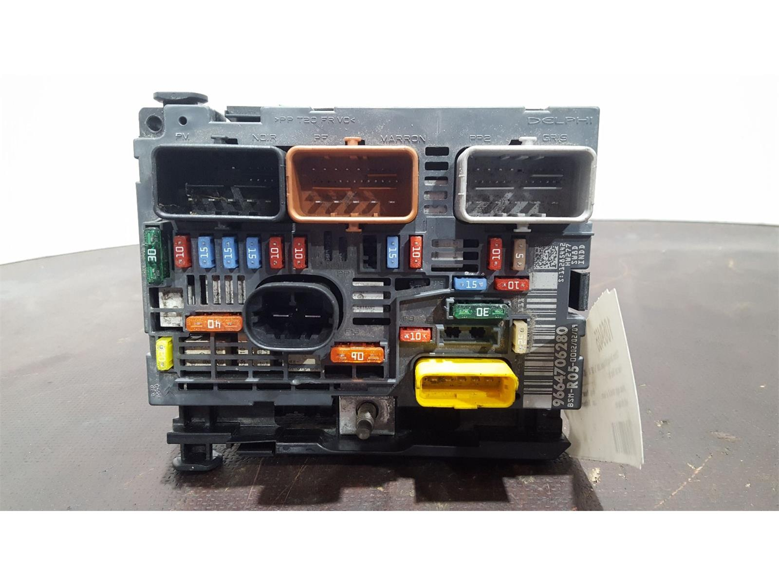 Citroen C5 Fuse Box Diagram